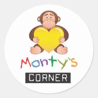 Monty Sticker