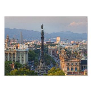 Monument a Colom Card
