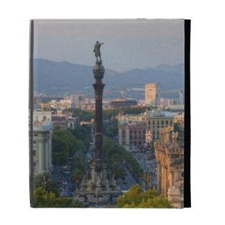 Monument a Colom iPad Folio Case