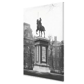 Monument dedicated to General Lafayette Canvas Print