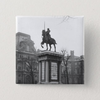 Monument dedicated to General Lafayette Pinback Button