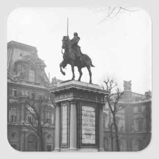 Monument dedicated to General Lafayette Square Sticker