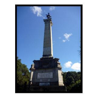 monument dick seddon post cards