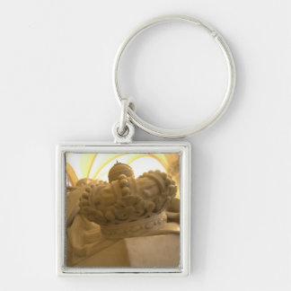 Monument for King William I of The Netherlands Keychain