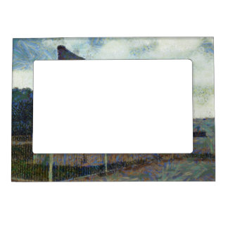 Monument for revolution in Tianmen Square Magnetic Photo Frame