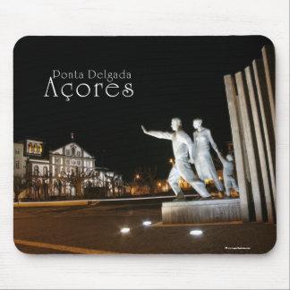 Monument in Ponta Delgada Azores Mouse Pad