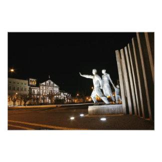 Monument in Ponta Delgada Azores Photo Print