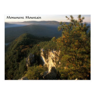 Monument Mountain Berkshires Massachusetts Postcard