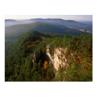 Monument Mountain Devils Pulpit View Postcard