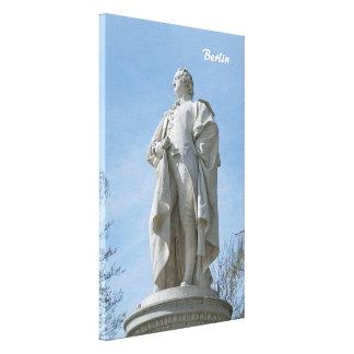 Monument of Johann Wolfgang von Goethe in Berlin Canvas Print