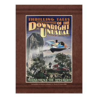 """Monument of Mystery Poster (18x24"""")"""