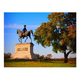 Monument on Gettysburg Battlefield Postcard