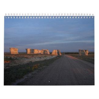Monument Rocks National Landmark Calendar