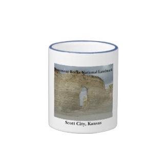 Monument Rocks National Landmark Coffee Mugs