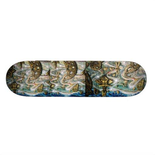 Monument roles custom skateboard