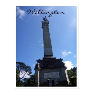 monument seddon pillar post card