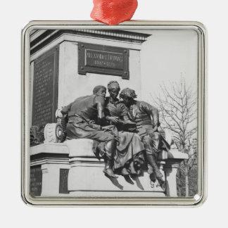 Monument to Alexandre Dumas Pere Metal Ornament