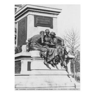 Monument to Alexandre Dumas Pere Postcard