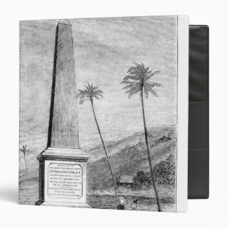 Monument to Captain James Cook 3 Ring Binder