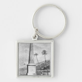 Monument to Captain James Cook Keychain
