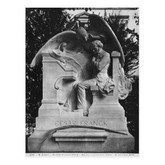 Monument to Cesar Franck Postcard