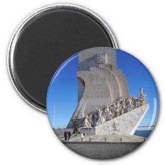 Monument to Discoveries 2 | Padrão Descobrimentos 2 Inch Round Magnet