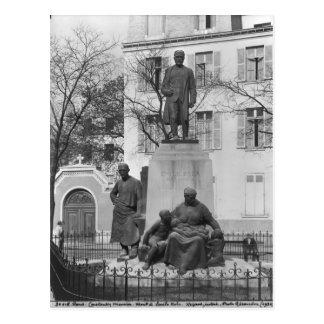 Monument to Emile Zola Postcard