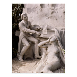 Monument to Frederic Chopin Postcard