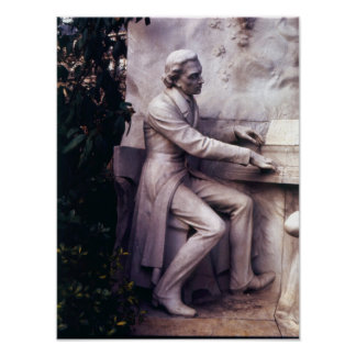 Monument to Frederic Chopin Print
