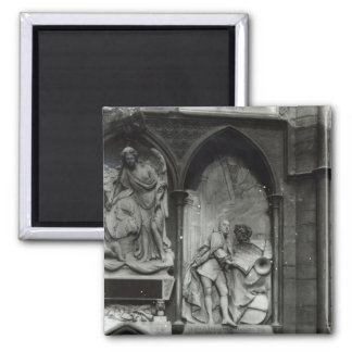Monument to Handel, 1762 2 Inch Square Magnet