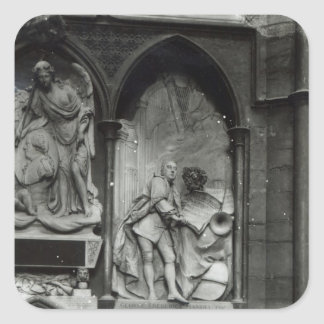 Monument to Handel, 1762 Square Stickers
