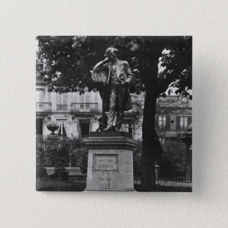 Monument to Hector Berlioz Pinback Button