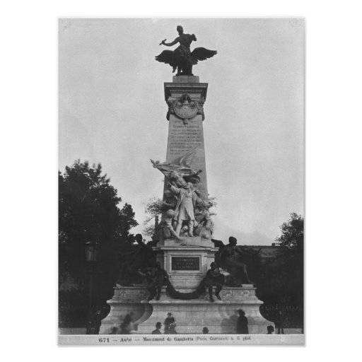 Monument to Leon Gambetta 2 Poster