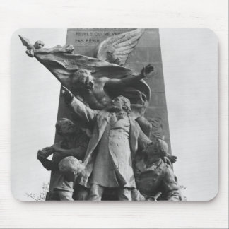 Monument to Leon Gambetta Mouse Pad