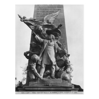 Monument to Leon Gambetta Post Cards