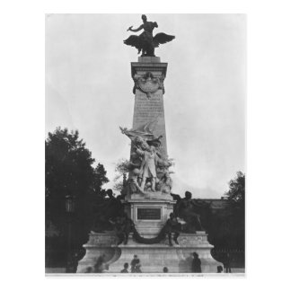 Monument to Leon Gambetta Postcard