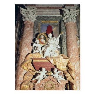 Monument to Maria Clementina Sobieska  1739 Postcard
