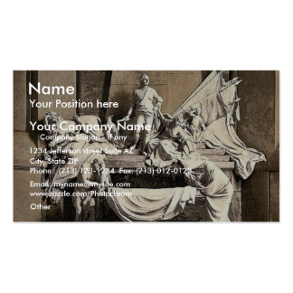 Monument to Marshall Mauritz of Saxe, Strassburg, Double-Sided Standard Business Cards (Pack Of 100)