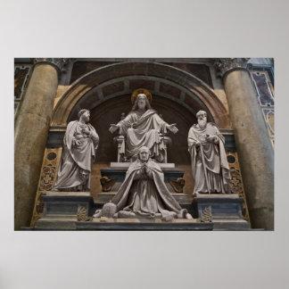 Monument to Pius VIII Poster