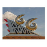 Monument to Route 66 Postcard