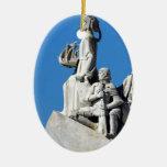 Monument to the Portuguese Discoveries at Lisbon Enfeite Para Arvore De Natal