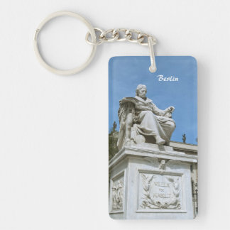 Monument to Wilhelm von Humboldt in Berlin Keychain