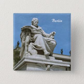 Monument to Wilhelm von Humboldt in Berlin Pinback Button