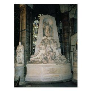 Monument to William Pitt the Elder Postcard