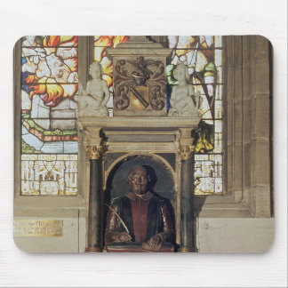 Monument to William Shakespeare  c.1616-23 Mouse Pad