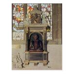 Monument to William Shakespeare  c.1616-23 Post Card