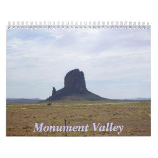 Monument Valley 12 month Calendar