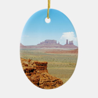 Monument Valley 13 Ceramic Ornament