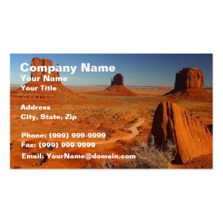 Monument Valley 1 Business Card Templates
