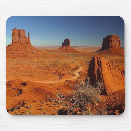 Monument Valley 1 Mouse Pad